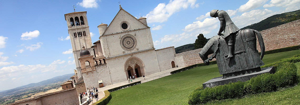 assisi basilica of st francis northern route st francis way pilgrimage S8