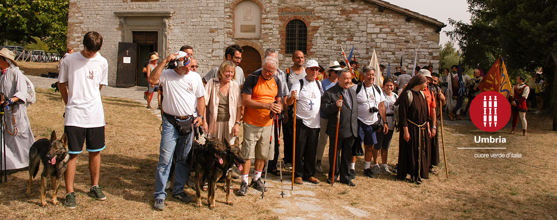 Spiritual journey in the footsteps of St Francis of Assisi pilgrimage camino