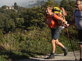 m the path of south from arrone to ceselli