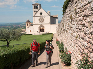 m pilgrimage and meditation between valfabbrica and assisi with the bike