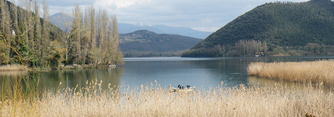lake of piediluco pilgrimage of francesco southern on foot T7