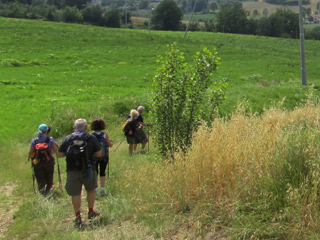 Stage 4 Pilgrimage of St. Francis the Franciscan Protomartyrs' Way from Narni to San Gemini