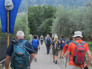 Stage 6 the Franciscan Protomartyrs' Way pilgrimage from Cesi to Terni