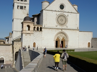 Stage 8 from Valfabbrica to Assisi